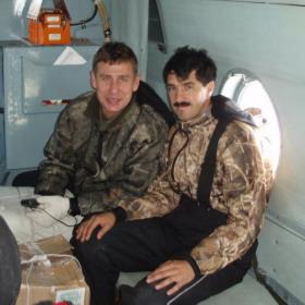 Ударная бригада контуженных рыбалкой Александр, Дмитрий