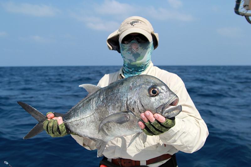 Лорд Вейдер на тропической рыбалке